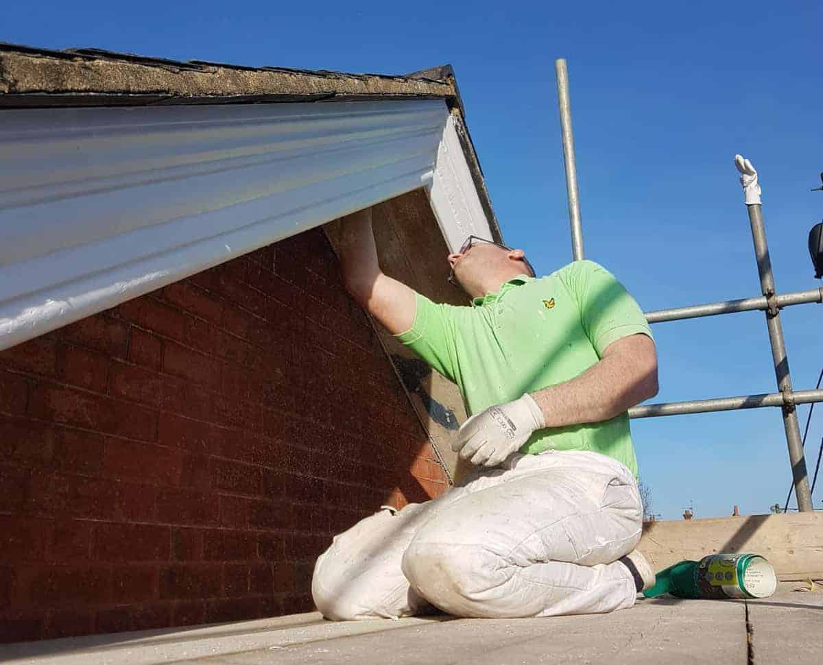 Domestic roof work