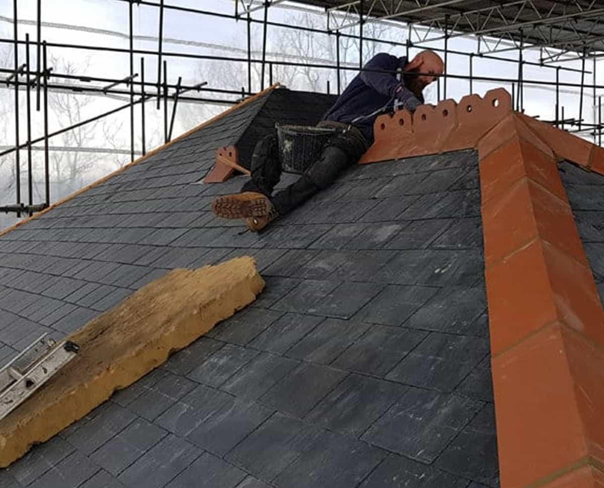 marshels roofing job