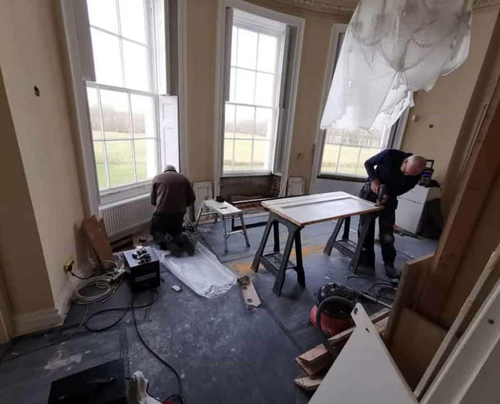 home refurbishment work